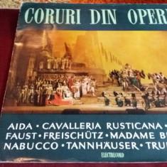 DISC VINIL CORURI DIN OPERE - Muzica Clasica