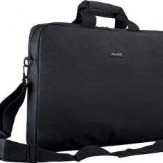 Geanta Laptop Logic Modecom Basic Neagra 15.6 inch, Nailon, Negru