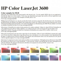 Imprimanta Color HP LJ3600 - Imprimanta laser color HP, DPI: 1200