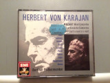 MOZART- KARAJAN/Berliner -3CD BOX (1990/EMI/W.GERMANY) - CD ORIGINAL/Sigilat/Nou, emi records