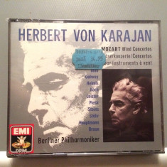 MOZART- KARAJAN/Berliner -3CD BOX (1990/EMI/W.GERMANY) - CD ORIGINAL/Sigilat/Nou - Muzica Clasica emi records
