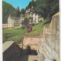 Bnk cp Slanic Moldova - Vedere - circulata - Carte Postala Moldova dupa 1918, Printata
