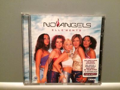 NO ANGELS - ELLE'MENTS (2001/POLYDOR REC/GERMANY) - CD ORIGINAL foto