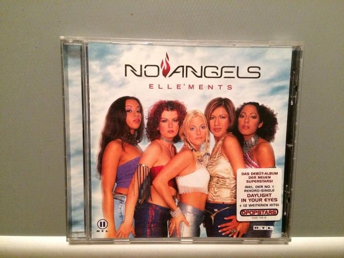 NO ANGELS - ELLE'MENTS (2001/POLYDOR REC/GERMANY) - CD ORIGINAL