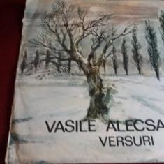 DISC VINIL VASILE ALECSANDRI - VERSURI - Muzica Clasica