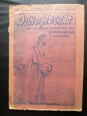 Carte veche cu tematica religioasa: Duh si Adevar, Nr. 1-3 / Timisoara 1945 foto