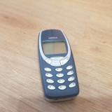 Nokia 3310 - 69 lei - Telefon Nokia, Albastru, Nu se aplica, Neblocat, Fara procesor