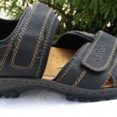 Sandale barbati RIEKER nr46 NOI, Culoare: Negru