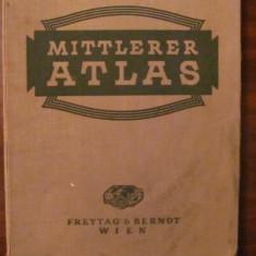 "CY - Hans KAINDLSTORFER ""Mittlerer ATLAS"" 1935 / limba germana"