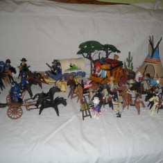 Playmobil - Wild West - Nord vs sud + indieni + diligenta 3803