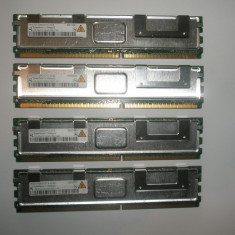 Memorie server Alta Quimonda 1GB FBDIMM 2Rx8 PC2-5300F DDR2 ECC REG 667Mhz