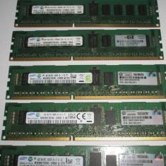 Memorie ram server workstation 4Gb PC3-10600R Samsung Registered ECC DDR3 - Memorie server Samsung, 1333 mhz