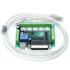 Placă Driver de Motoare Pas cu Pas cu 5 Axe Compatibilă cu CNC MACH3 (3 A)