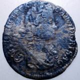 G.339 AUSTRIA BOHEMIA KARL CAROL VI 3 KREUZER 1719 ARGINT 1, 2g - Moneda Medievala, Europa