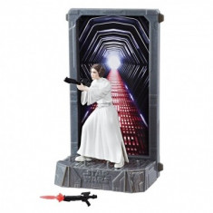 Figurina Diecast Princess Leia Organa (Episode IV), Black Series Titanium - Figurina Povesti Hasbro