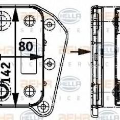 Racitor ulei, A6111880301, Mercedes Clasa C, W203, 2.2cdi, OM646962 - Radiator auto ulei Behr Thermot-Tronik, Mercedes-benz