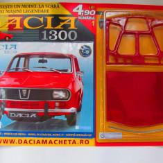 Macheta Dacia 1300 1:8 Nr 1 Eaglemoss - Macheta auto