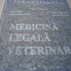 MEDICINA LEGALA VETERINARA { sub redactia Traian Enache, 872 pagini ] / 1994 - Carte Medicina veterinara, All