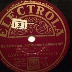 BRAHMS - HUNGARIAN .....(ELECTROLA/GERMANY) - DISC PATEFON/GRAMOFON/Stare F.Buna - Muzica Clasica, Alte tipuri suport muzica