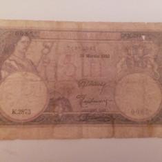 5 lei 25 martie 1920 - Bancnota romaneasca