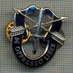 ZET 655 INSIGNA FORTELE SPECIALE MILITARE AMERICANE -,, DE OPPRESSO LIBER
