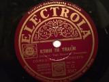 COMEDIAN HARMONISTS(1937/ELECTROLA/GERMANY) - DISC PATEFON/GRAMOFON/Stare F.Buna, Alte tipuri suport muzica