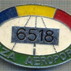 ZET 640 INSIGNA TEMATICA AVIATIE -,, PAZA AEROPORT - 6518