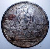 2.238 ROMANIA RPR 50 BANI 1955, Cupru-Nichel