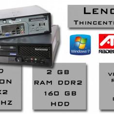 Mini Calculator Lenovo ThinkCentre A25 (RFB) Amd X2 2.1 Ghz, 2 Gb ram, 160 HDD, AMD Turion 64 X2, 100-199 GB