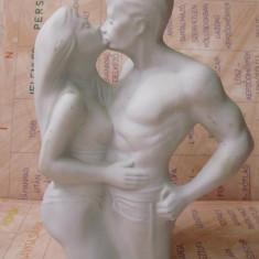 statueta ceramica deosebita  semnata rara