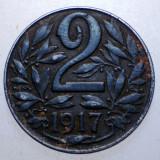 2.289 AUSTRIA WWI 2 HELLER 1917 FIER, Europa