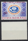 Romania 1996 eroare supratipar deplasat 5 ani Posta Romana ca regie MNH