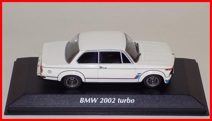 1973 - BMW 2002 TURBO (scara 1/43) MAXICHAMPS