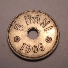 5 Bani 1906 J UNC - Moneda Romania