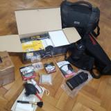 Aparat Foto DSLR Nikon D7100 kit - ca NOU folosit putin-amator