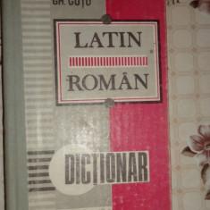 Dictionar latin - roman 470pagini- Gh.Gutu