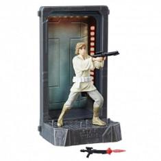 Figurina Diecast Luke Skywalker (Episode IV), Black Series Titanium - Figurina Povesti Hasbro