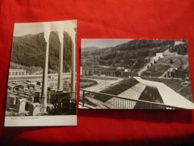 2 Ilustrate Bicaz- -Uzina Hidrocentralei VI Lenin si Fabrica de Ciment Tasca foto