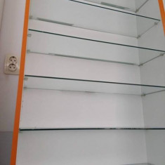 Vand rafturi cu polite din sticla securizata. - Raft/Etajera