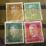 GERMANIA (REICH) 1928 – PRESEDINTI AI STATULUI, timbre stampilate AM47