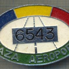 ZET 635 INSIGNA TEMATICA AVIATIE -,, PAZA AEROPORT - 6543