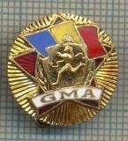 "ZET 681 INSIGNA SPORTIVA - ,,GMA"" -GATA PENTRU MUNCA SI APARARE"