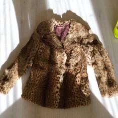 Haina blana naturală - haina de blana
