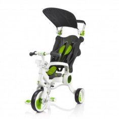 Tricicleta Pliabila Evolutiva Copii 10-36 Luni Galileo Green