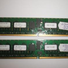 Memorie ram server workstation Stec 1Gb PC2-3200R DDR2/400 ECC HP Registered - Memorie server Alta, 400 mhz