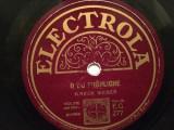 M.WEBER - SILENT NIGHT (ELECTROLA/GERMANY) - DISC PATEFON/GRAMOFON/Stare F.Buna, Alte tipuri suport muzica