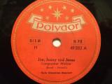 HULA HAWAIIAN-QUARTETT(POLYDOR/GERMANY) - DISC PATEFON/GRAMOFON/Stare F.Buna, Alte tipuri suport muzica
