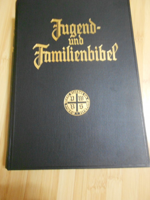 LUTHER - BIBLIA PENTRU TINERI - 1935 - IN GERMANA - ILUSTRATA - ED. LUX foto mare