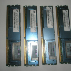 Memorie server Alta Micron 2GB FBDIMM 2Rx4 PC2-5300F DDR2 ECC Fully buffered, 667 mhz