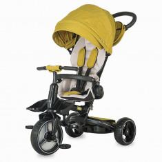 Tricicleta Coccolle Alto Multifunctionala Mustar - Tricicleta copii